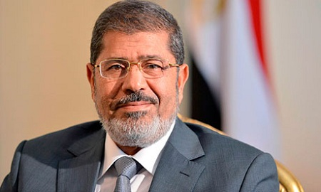 Egyptian President Mohamed Morsi, who was overthrown in a military coup d'etat on July 3, 2013 (Khaled Desouki / AFP)