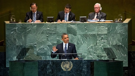 Obama's U.N. Speech: On Rhetoric and Actions