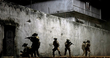 "A scene from the Hollywood film ""Zero Dark Thirty"""