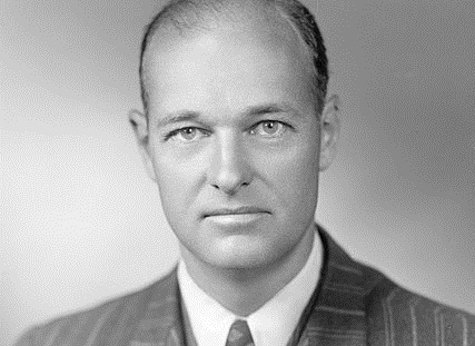 American diplomat and political scientist George F. Kennan (1904-2005) in a photo from 1947 (Photo: Library of Congress)