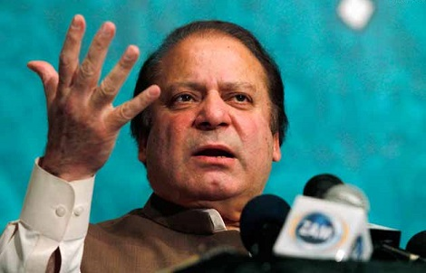 Pakistan Prime Minster Nawaz Sharif (Reuters)
