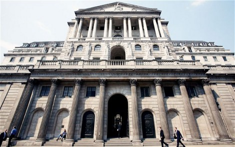 The Bank of England (Daniel Jones/Telegraph)