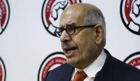 Mohamed ElBaradei (EPA)