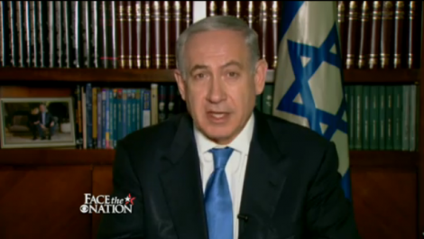 Israeli Prime Minister Benjamin Netanyahu on CBS Face the Nation, July 14, 2013