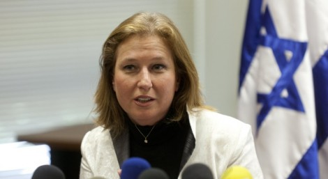 Minister of Justice Tzipi Livni in Jerusalem, July 22, 2013. (Flash90)