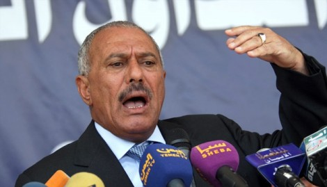 Former Yemen President Ali Abdullah Saleh (AFP/Getty Images)