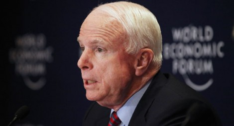 Republican Senator John McCain has been a leading advocate for U.S. aggression against Syria (Photo: AP)