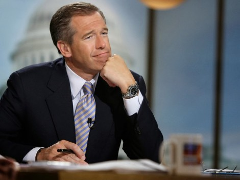 NBC Nightly News anchor Brian Williams