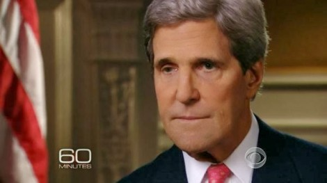 John Kerry on CBS 60 Minutes