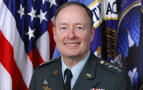 Official photographic portrait of the Director of the National Security Agency (NSA), General Keith B. Alexander, United States Army.