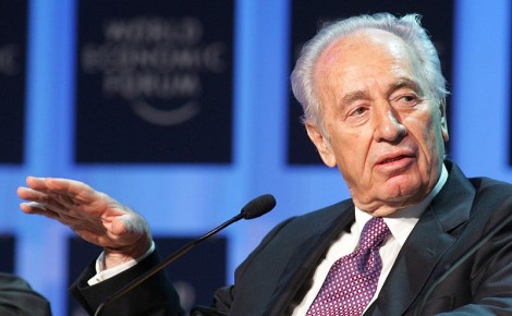 Israeli President Shimon Peres at the World Economic Forum in Davos, Switzerland, January 8, 2005 (Photo: World Economic Forum)