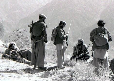 Mujahideen in Kunar, Afghanistan, 1987 (Erwin Lux)