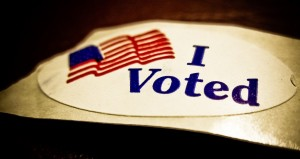 I voted! (Photo: Vox Efx/Flickr)