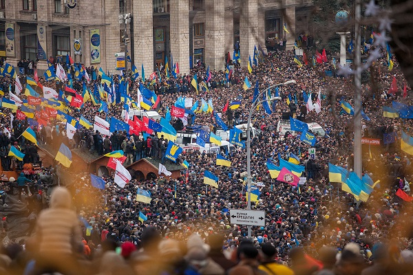 Democracy Murdered By Protest: Ukraine Falls To Intrigue and Violence