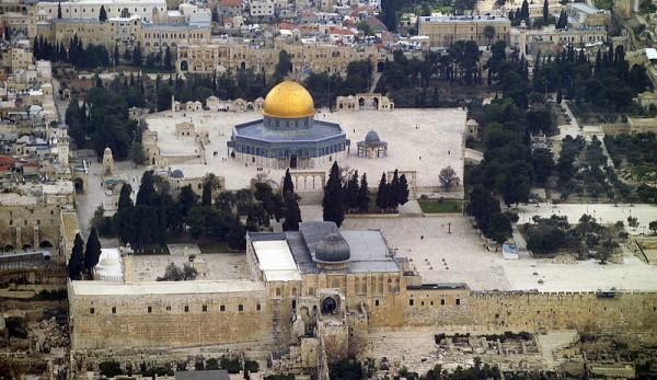 The Al Aqsa Mosque (Godot13/Wikimedia Commons)