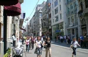 A street scene in Istanbul (photo courtesy of the author)