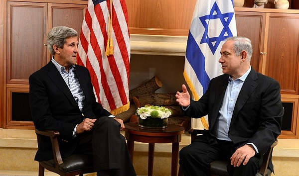 U.S. Secretary of State John Kerry and Israeli Prime Minister Benjamin Netanyahu, June 27, 2013. (State Department)