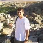The author in Maaloula, Syria (Photo courtesy of Brad Hoff)