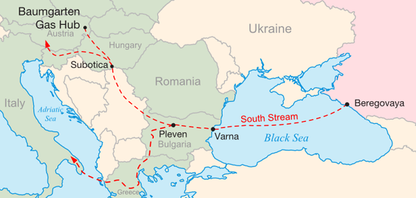 The Prospects for the South Stream Pipeline after the Ukrainian Crisis
