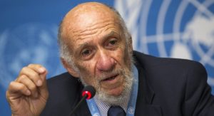 Richard Falk (Photo: Iran Review)
