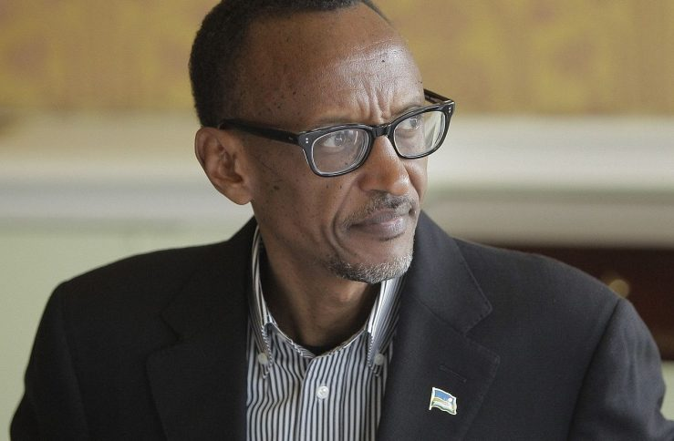 H.E. President of Rwanda, Paul Kagame at the 9th Broadband Commission Meeting, Dublin 22-23 March 2014. (J.Ohle/ITU)