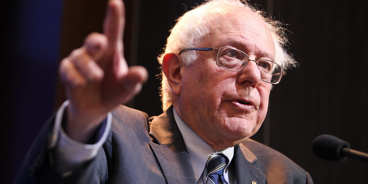 Opposing Hillary Clinton, Supporting Bernie Sanders