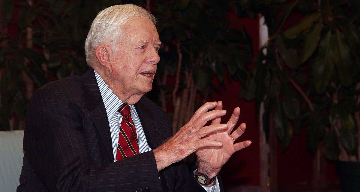 Bring Back Jimmy Carter!
