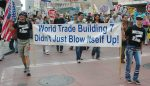Activists in Los Angeles, California, march in demand of a real investigation of the collapse of World Trade Center Building 7 (Damon D'Amato/CC BY 2.0)