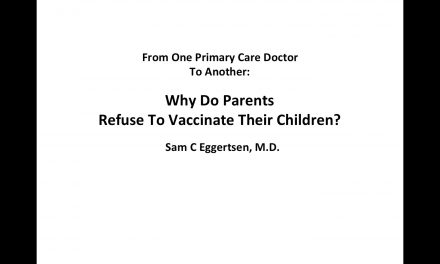 Why do parents refuse to vaccinate their children?