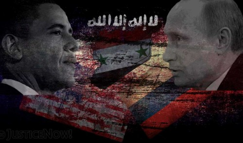 Cold War reloaded—Front Line Syria