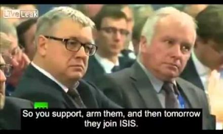 Vladimir Putin on ISIS and US Foreign Policy