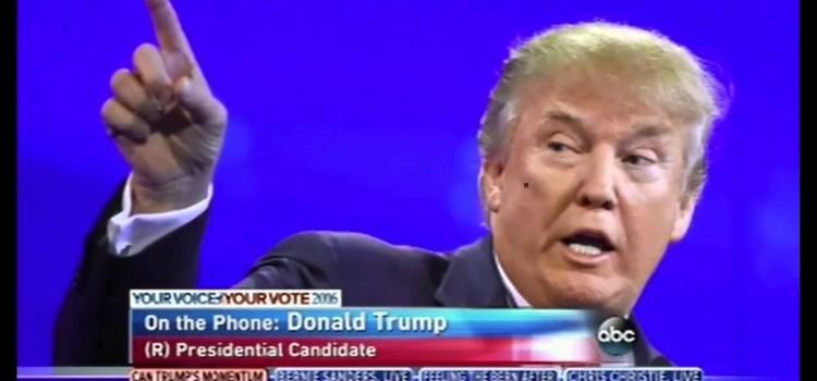 Donald Trump vs. the Mainstream Media