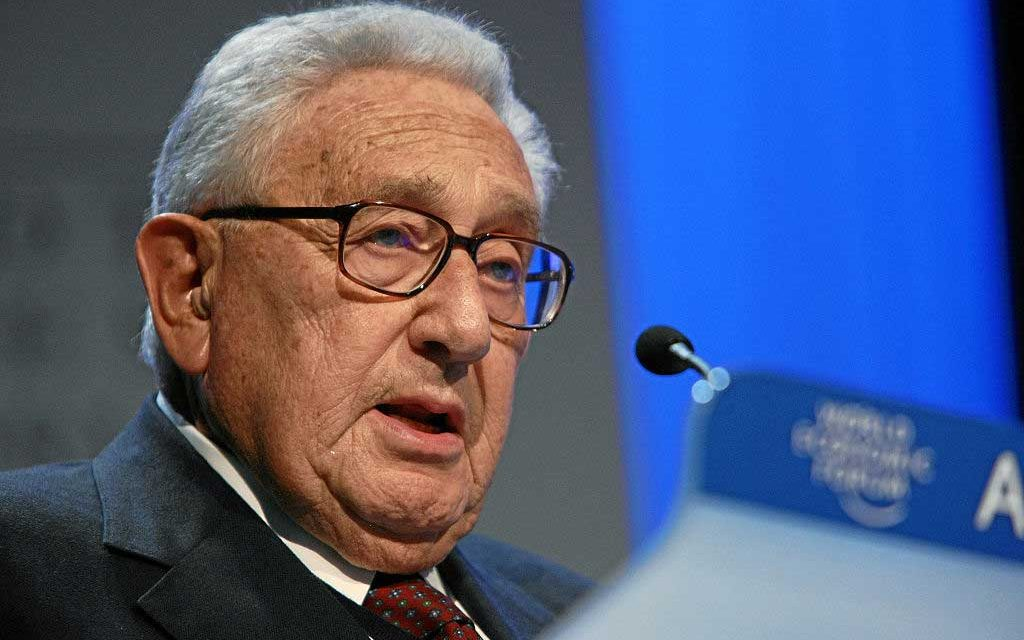 What is Henry Kissinger Up To?