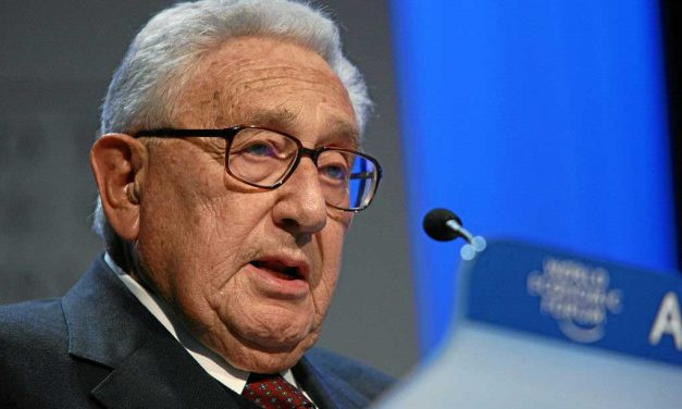 Honoring Henry Kissinger at Oslo