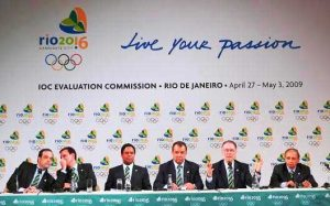 The International Olympic Committee's Evaluation Commission gives a press conference (Around the Rings/CC BY-SA 3.0)