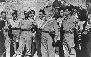 David Ben-Gurion (center) with Yitzhak Rabin and Yigal Allon during the 1948 war (Israel Defense Forces/CC BY-NC 2.0)