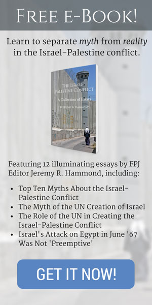 Get a free e-book separating myth from reality in the Israel-Palestine conflict!