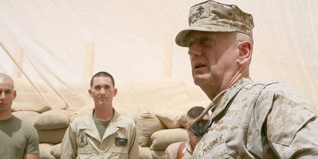 James Mattis Is a Secretary of Offense
