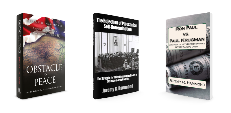 Get 3 Free books by Jeremy R. Hammond!
