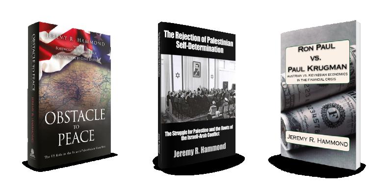 Get 3 Free books by Jeremy R. Hammond!