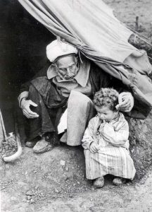 Palestinian refugees from the 1948 war (Source: Hanini.org/CC BY 3.0)