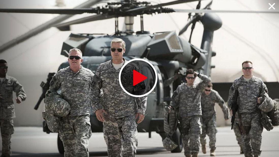 Brad Pitt Does Stanley McChrystal: When Netflix' War Movie Stops Being Funny