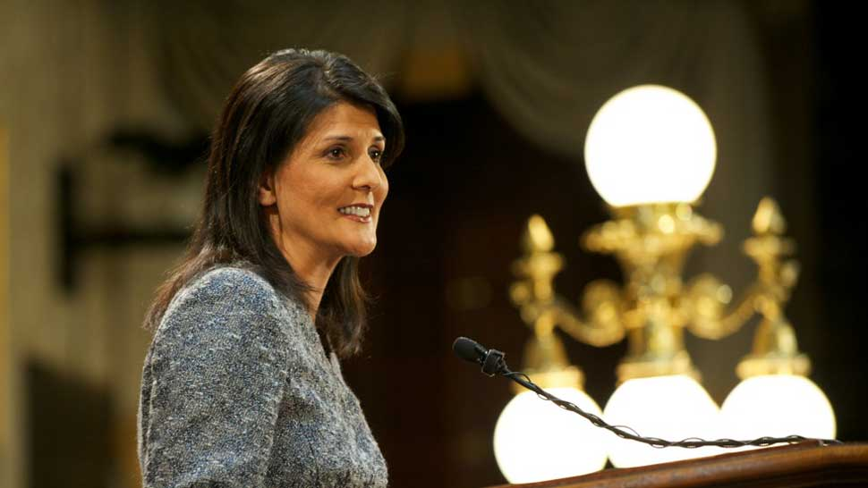 The UN 'Sheriff': Nikki Haley Elevated Israel, Damaged US Standing