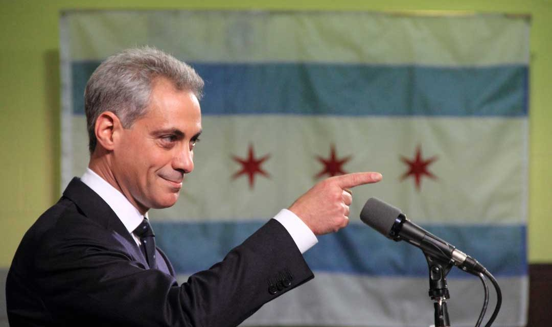 Rahm Emanuel Imposes Military Draft on Chicago