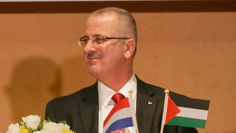 Palestinian Prime Minister Rami Hamdallah, December 7, 2013 (Minister-president Rutte/CC BY-SA 3.0)