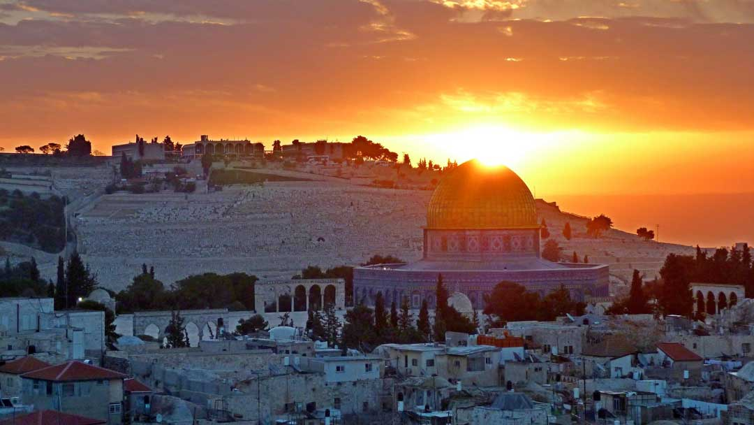 Sunrise over Jerusalem (Pixabay/Public Domain)