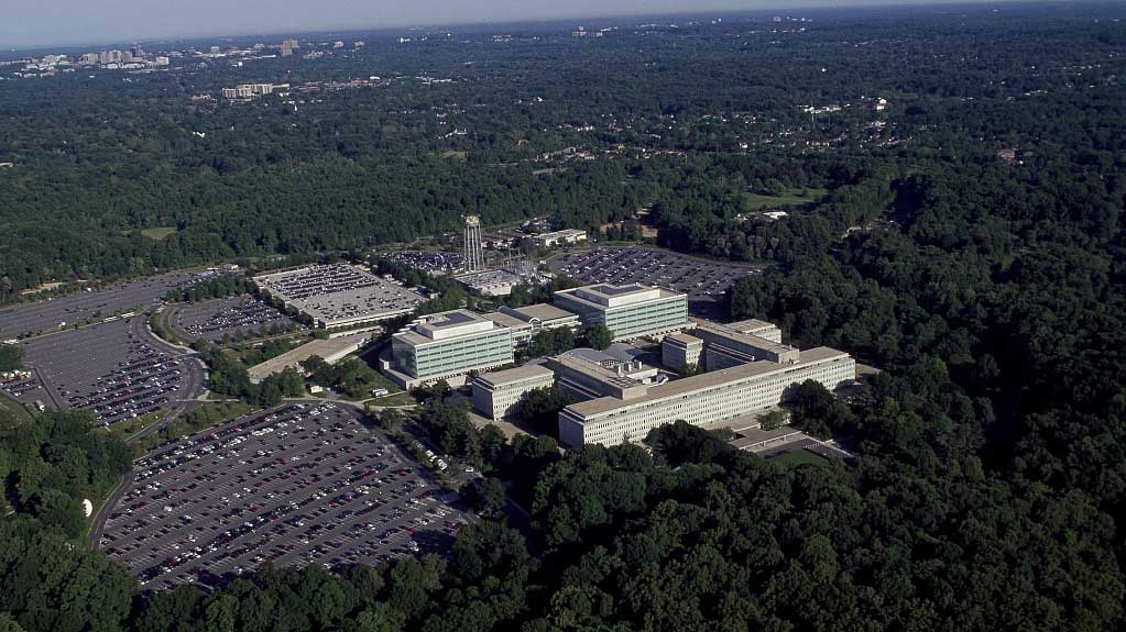 The CIA headquarters in Langley, Virginia (Carol M. Highsmith Archive, Library of Congress)
