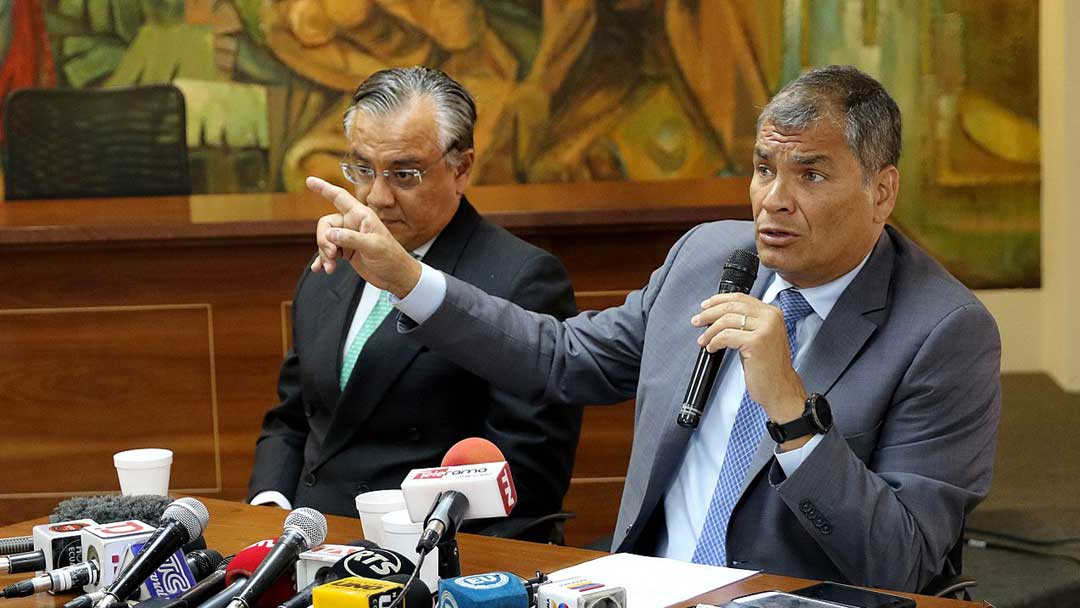 Washington Moves Against Rafael Correa