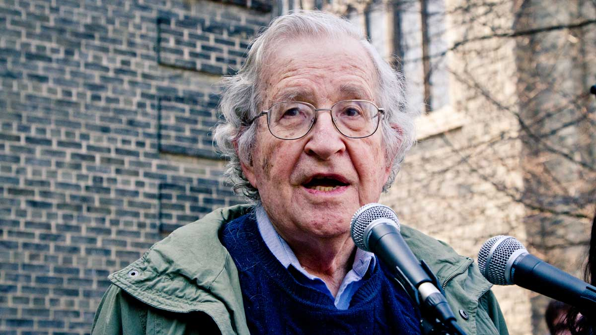 Noam Chomsky: Hopes and Anxieties in the Age of Trump