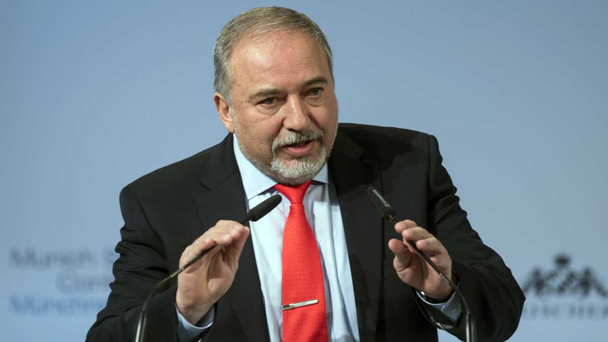 Avigdor Lieberman at the Munich Security Conference on February 19, 2017 (Preiss/MSC/CC BY 3.0 DE)